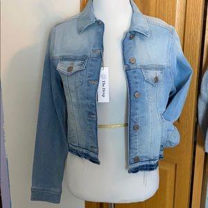 Jackets & Blazers - Distressed Crop Denim Jacket